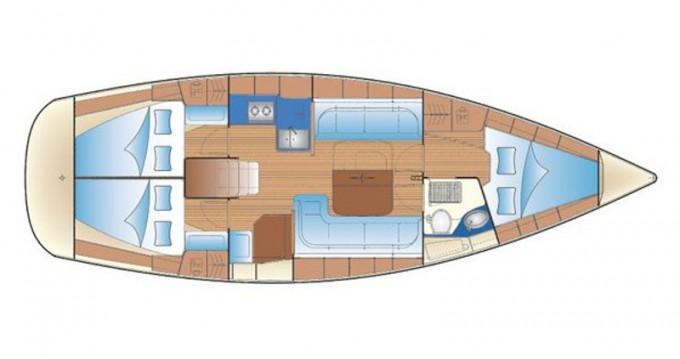 Boat rental Gouvia cheap Bavaria 38 Cruiser