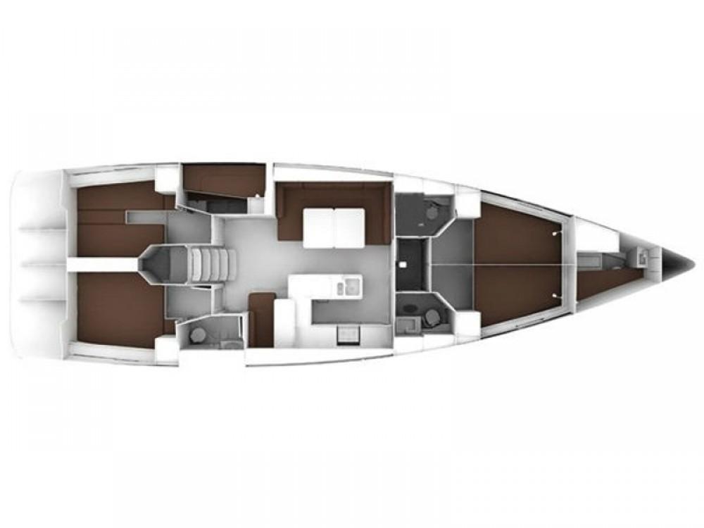 Rental Sailboat in Kontokali - Bavaria Bavaria Cruiser 56