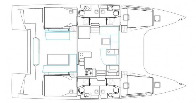 Catamaran for rent Gouvia at the best price