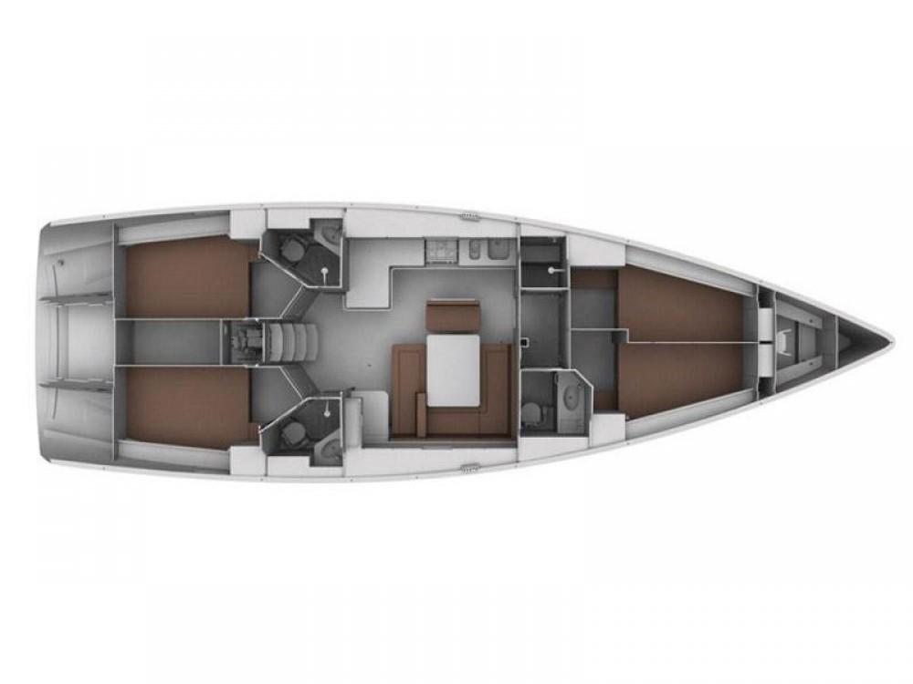 Rental Sailboat in Kontokali - Bavaria Bavaria 45 Cruiser