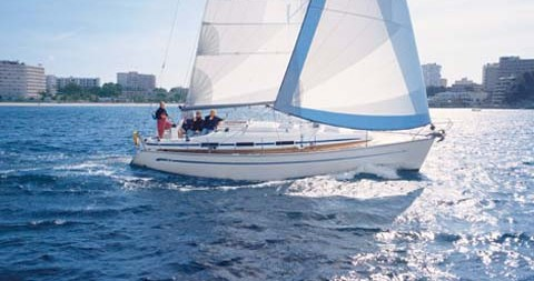 Bavaria Cruiser 36 between personal and professional Skopelos Town