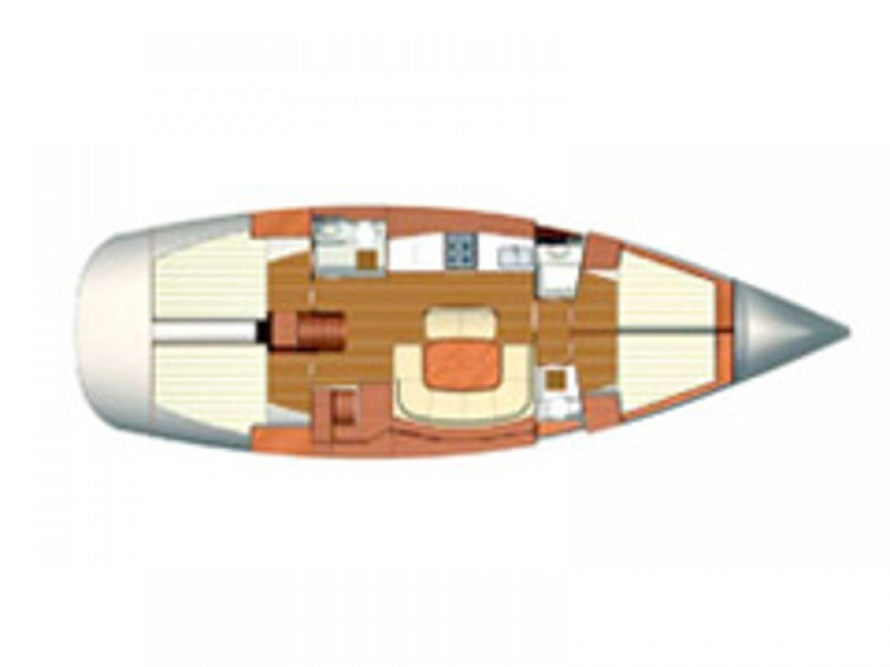 Boat rental Dufour Dufour 455 GL in Marina di Ragusa on Samboat