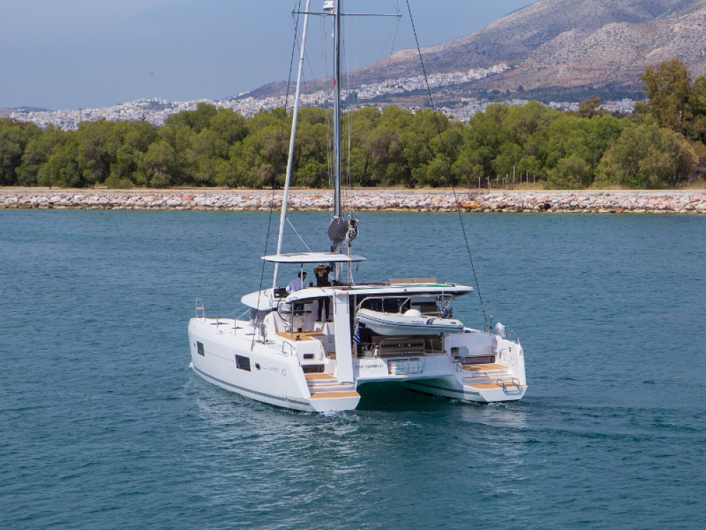 Rental Catamaran in Lefkada - Lagoon Lagoon 42