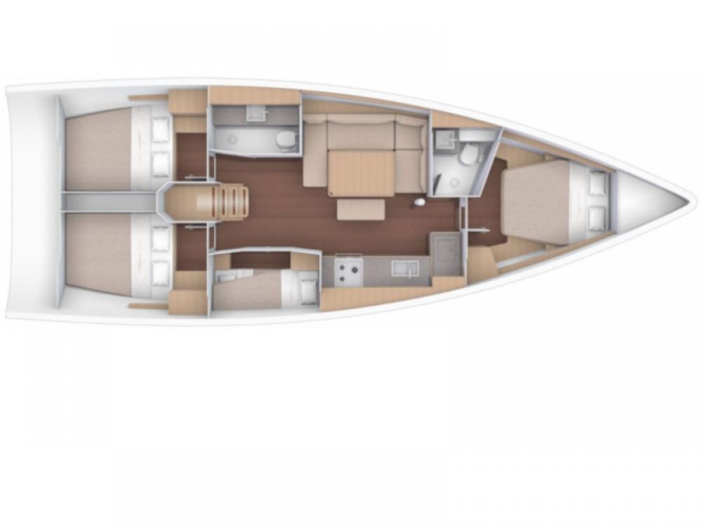 Boat rental Furnari cheap Dufour 430 Grand Large