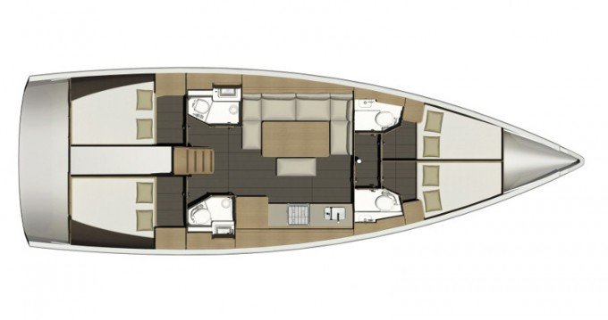 Boat rental Dufour Dufour 460 Grand Large Aquilo 2016 in Porto di Balestrate on Samboat