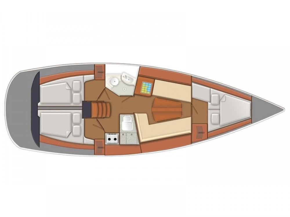 Boat rental Delphia Delphia 37 in Norway on Samboat