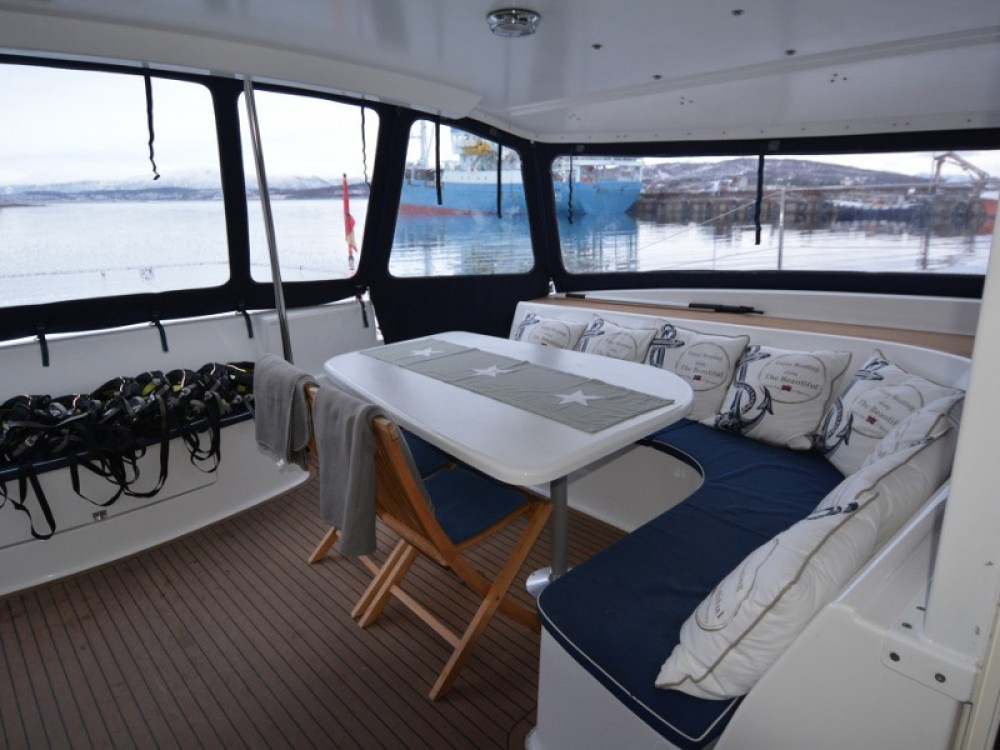 Catamaran for rent Norway at the best price