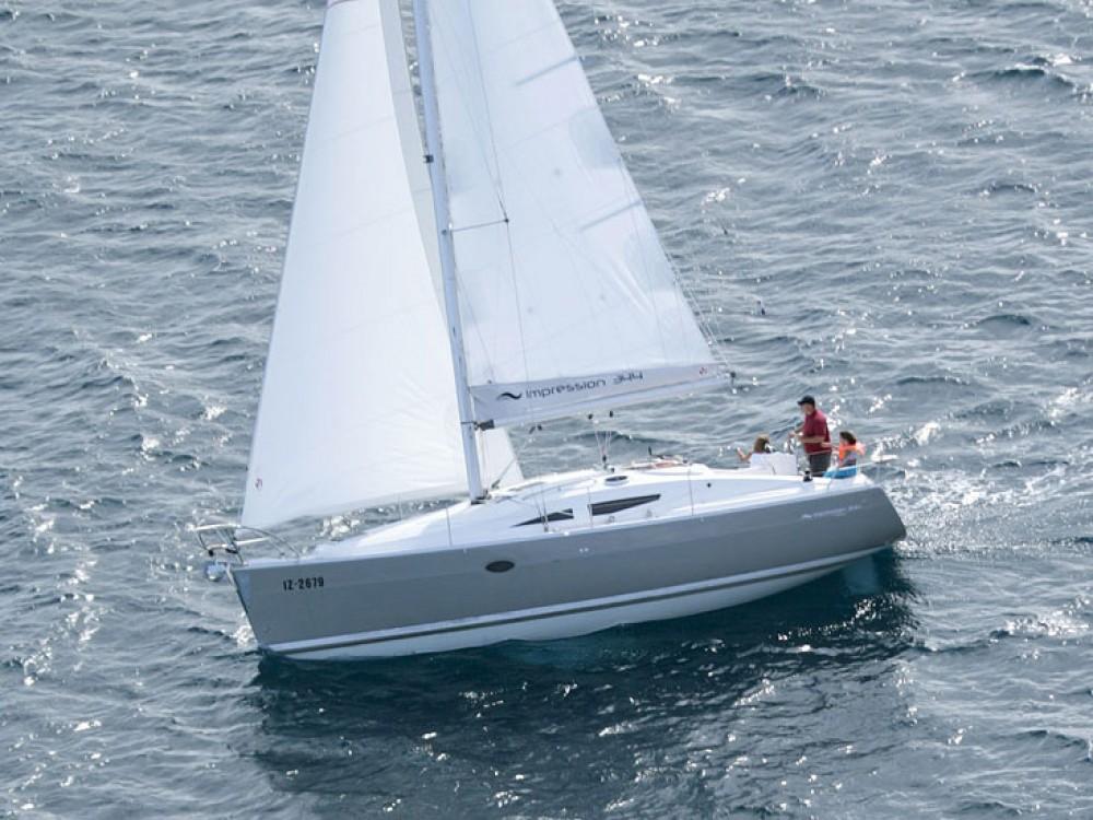 Rental yacht Murter - Elan Elan 344 Impression on SamBoat