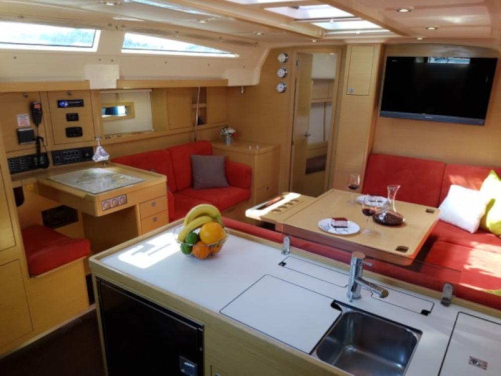 Boat rental Murter cheap Elan 450 Performance