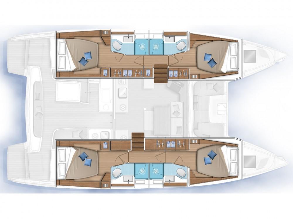 Boat rental Sochi cheap Lagoon 46