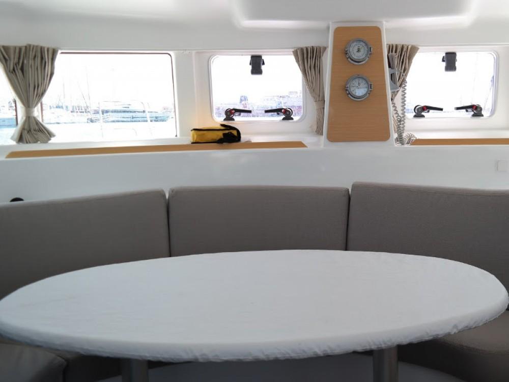Boat rental Sochi cheap Lagoon 380