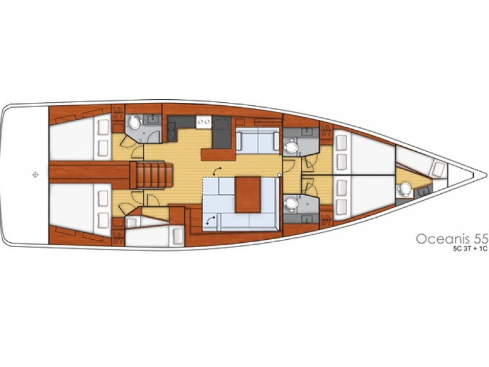 Bénéteau Oceanis 55 between personal and professional Sochi