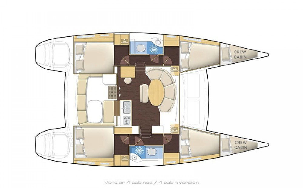 Rental Catamaran in Álimos - Lagoon Lagoon 380