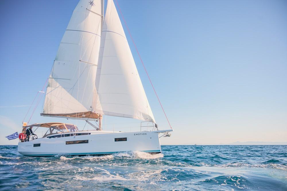 Rental Sailboat in Alimos Marina - Jeanneau Sun Odyssey 410