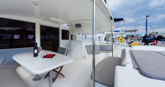 Boat rental Gouvia cheap Salina 48