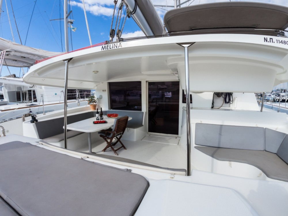 Fountaine Pajot Salina 48 between personal and professional Kontokali