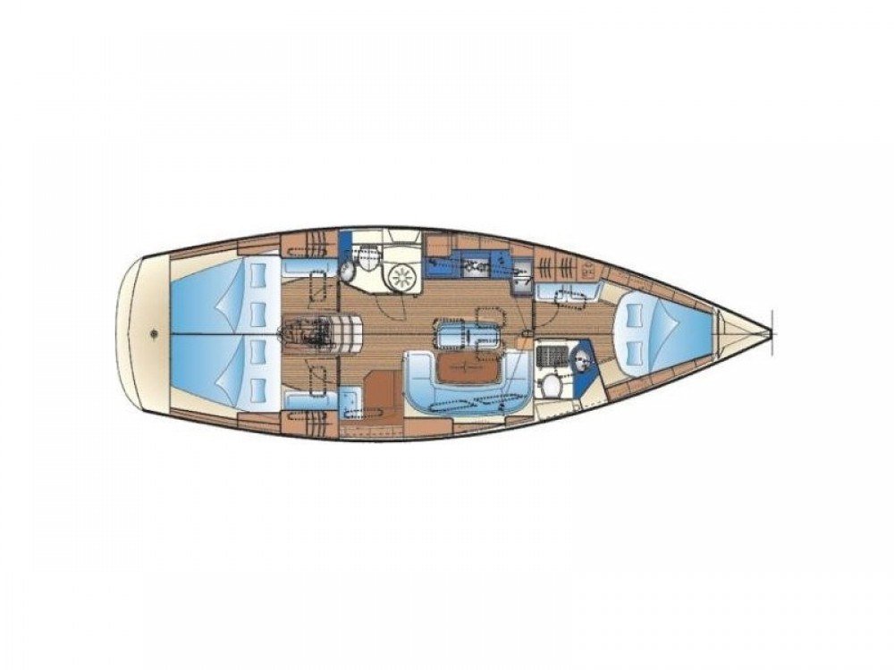 Hire Sailboat with or without skipper Bavaria Kontokali