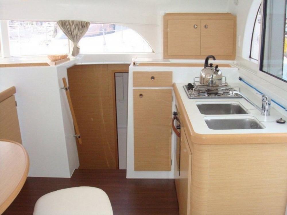 Rental Catamaran in Lefkada - Lagoon Lagoon 380