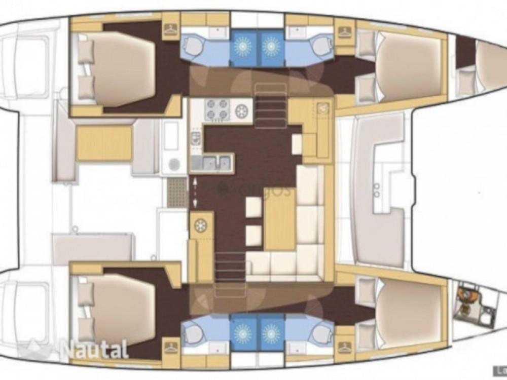 Boat rental Volos Municipality cheap Lagoon 450  Flybridge