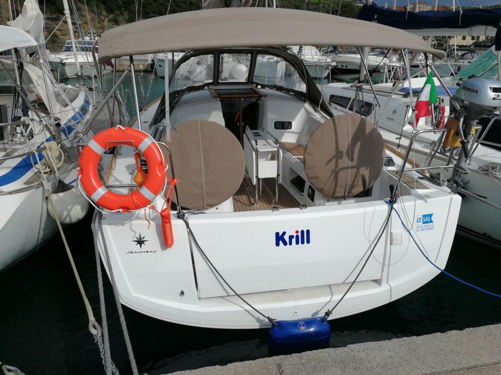 Boat rental Castiglione della Pescaia cheap Sun Odyssey 349