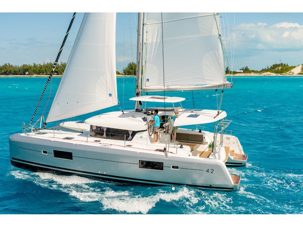 Hire Catamaran with or without skipper Lagoon Marina Gouvia