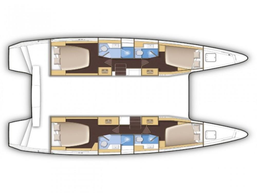 Rental Catamaran in Marina Gouvia - Lagoon Lagoon 42