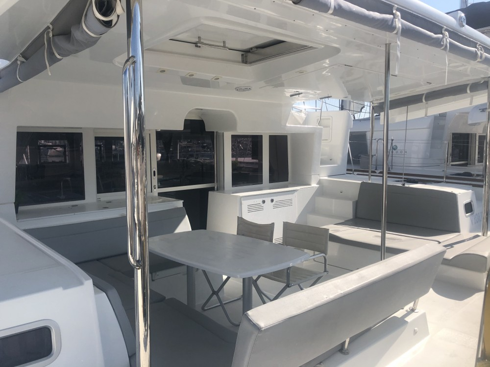Hire Catamaran with or without skipper Lagoon Marina Gouvia