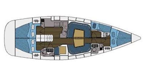 Rental Sailboat in Punta Ala - Elan Impression 434