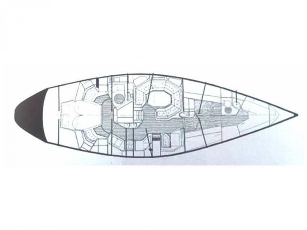 Rental Sailboat in Castiglione della Pescaia -  Baltic 48