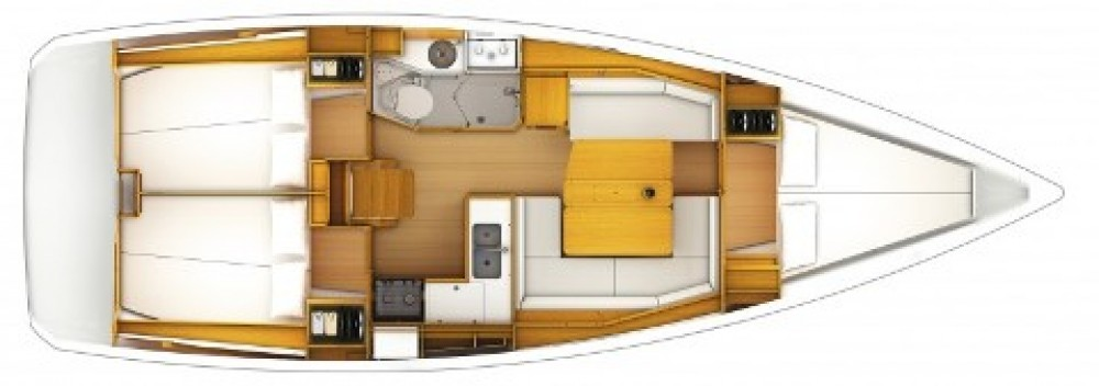 Boat rental Jeanneau Sun Odyssey 379 in ACI Marina Split on Samboat