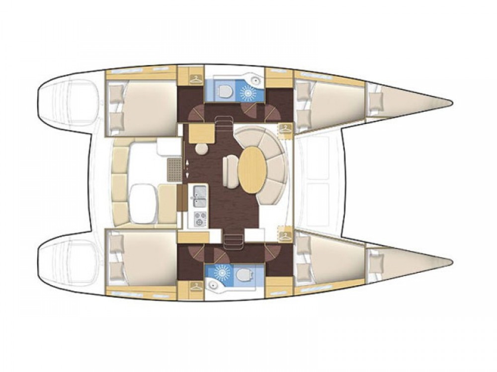 Rental Catamaran in Komolac - Lagoon Lagoon 380