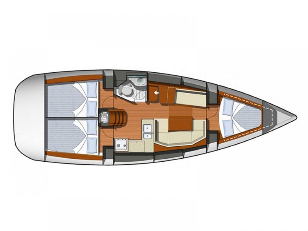 Rental Sailboat in Laurium - Jeanneau Sun Odyssey 36i