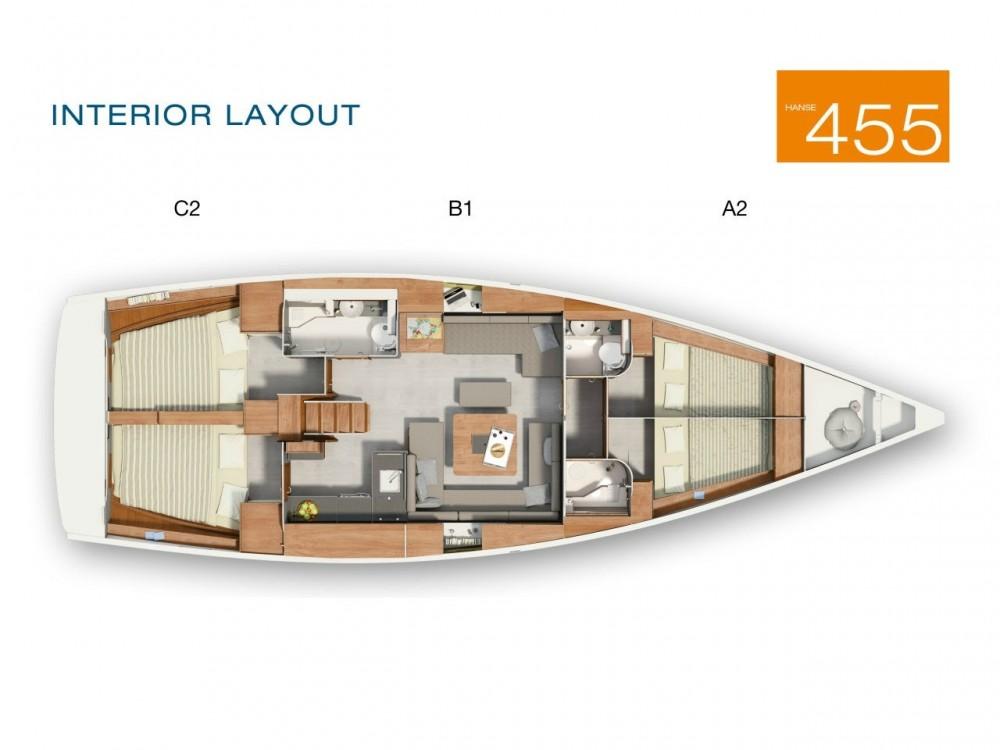 Rental yacht Laurium - Hanse Hanse 455 on SamBoat