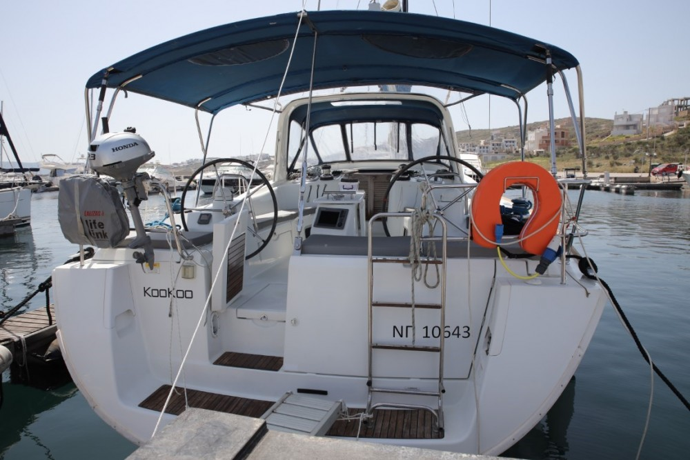 Boat rental Lávrio cheap Oceanis 50 Family