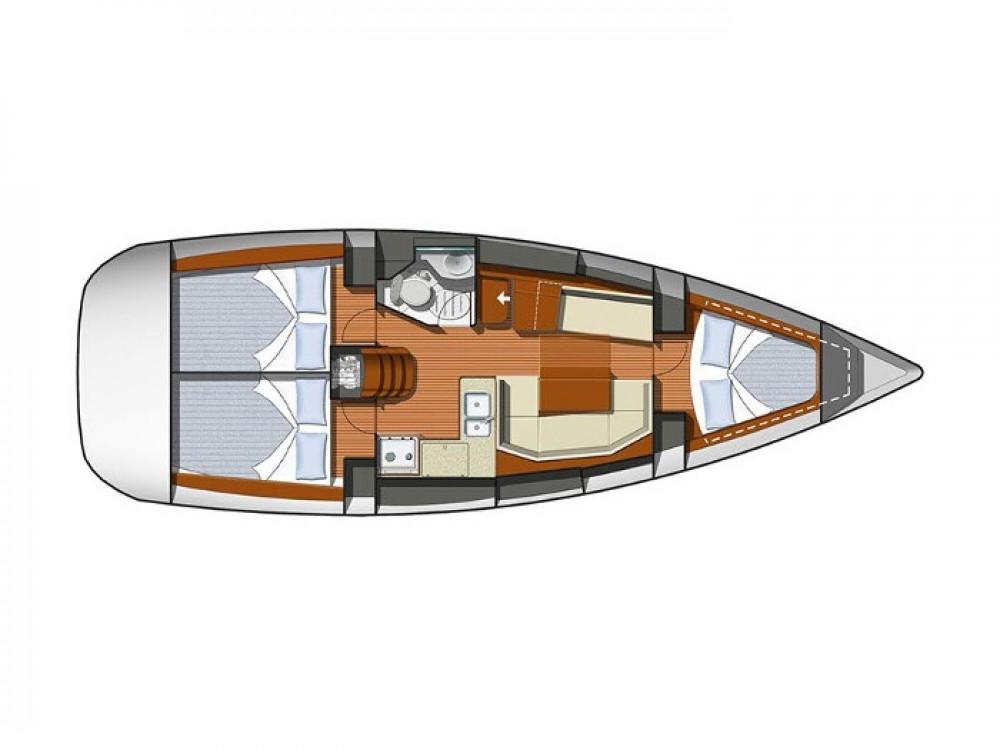 Rental yacht Pula - Jeanneau Sun Odyssey 36i on SamBoat