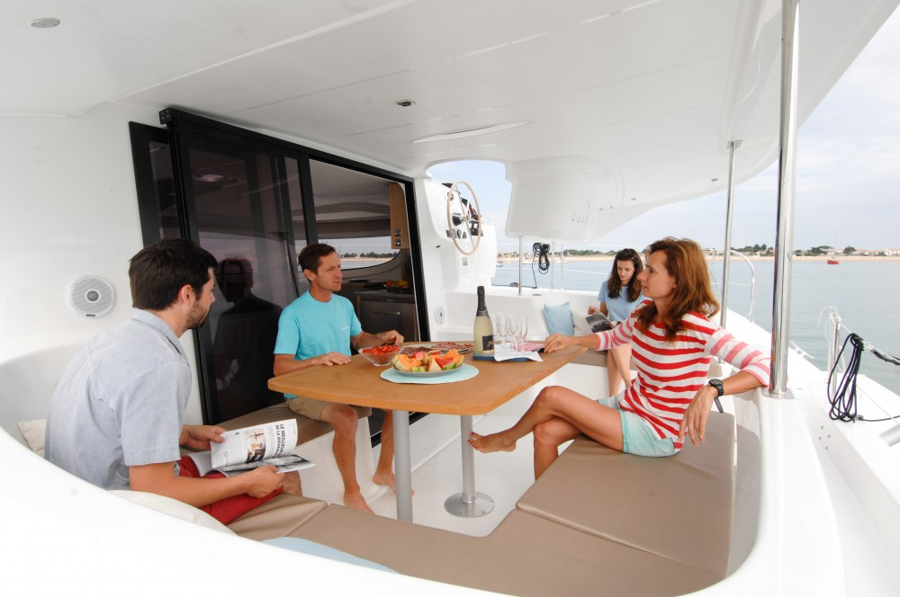 Fountaine Pajot Lipari 41 (4 dbl, 2sgl) between personal and professional Kaštel Gomilica