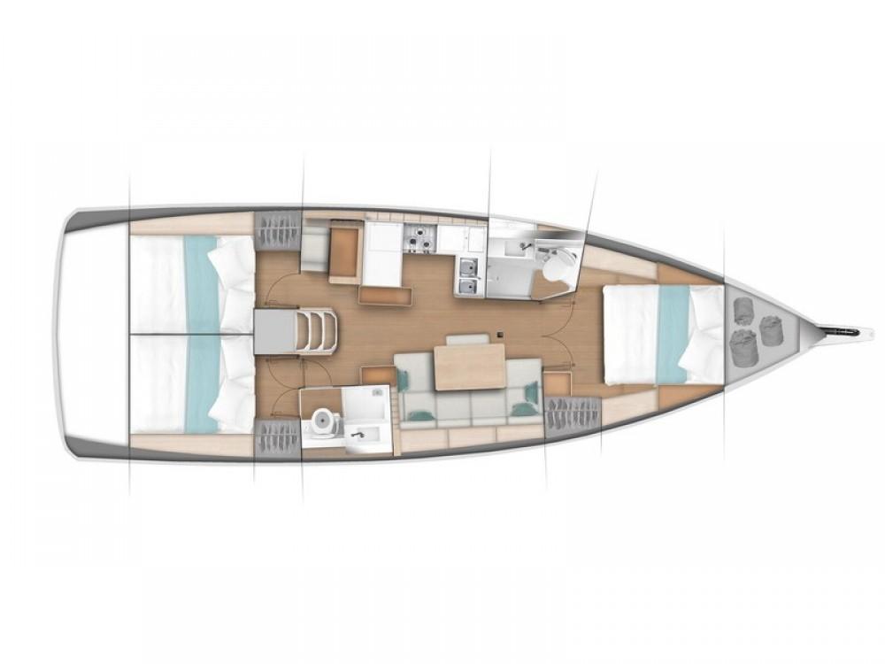 Rental yacht Pula - Jeanneau Sun Odyssey 440/3cab. on SamBoat