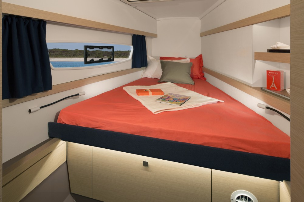 Fountaine Pajot Lucia 40 (4cab./4 hds) between personal and professional