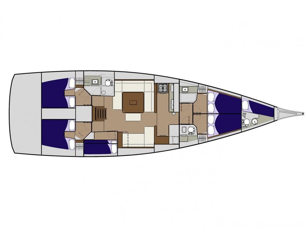 Rental yacht Pula - Dufour Dufour 560 on SamBoat