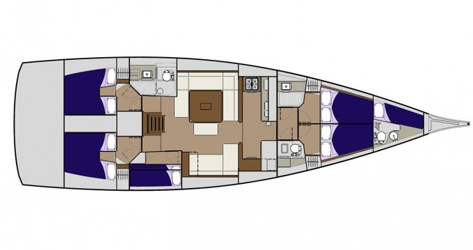 Rental yacht Veruda - Dufour Dufour 560 on SamBoat