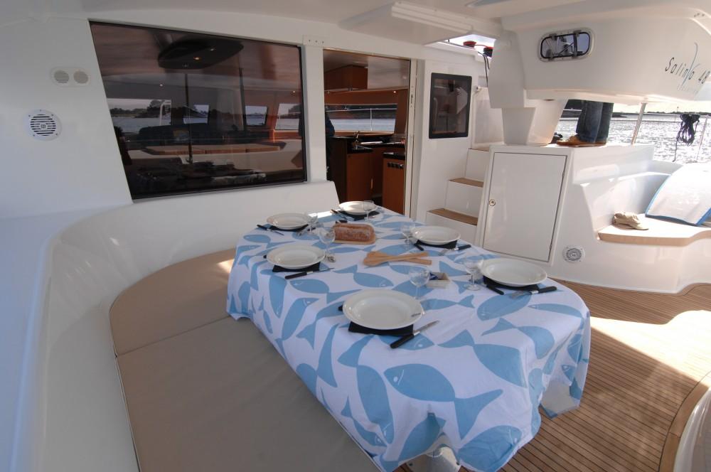 Rental Catamaran in Marina Kaštela - Fountaine Pajot Salina 48