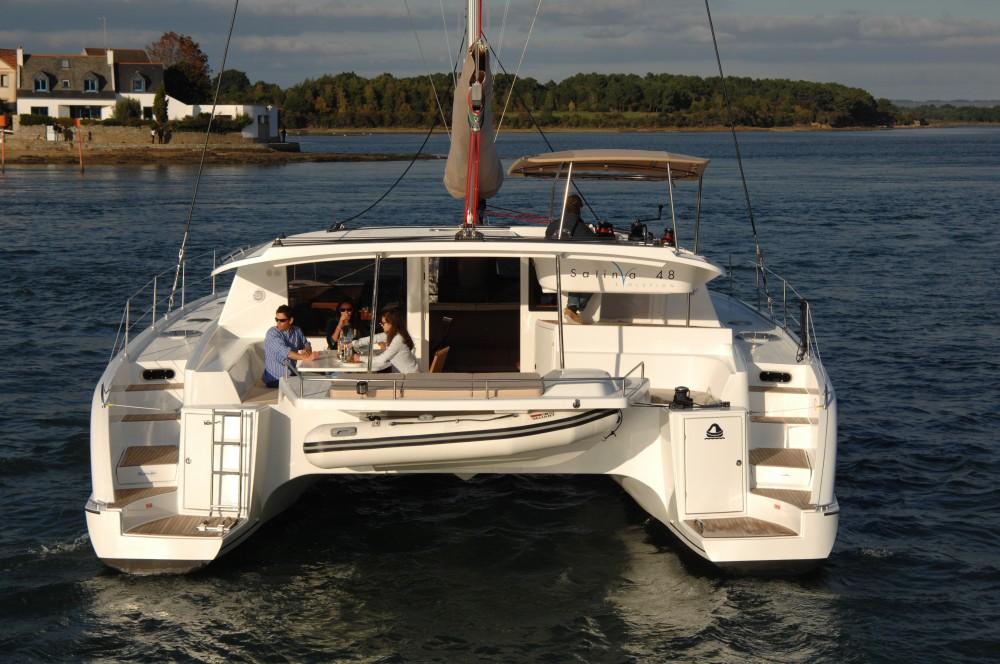 Boat rental Fountaine Pajot Salina 48 in Marina Kaštela on Samboat