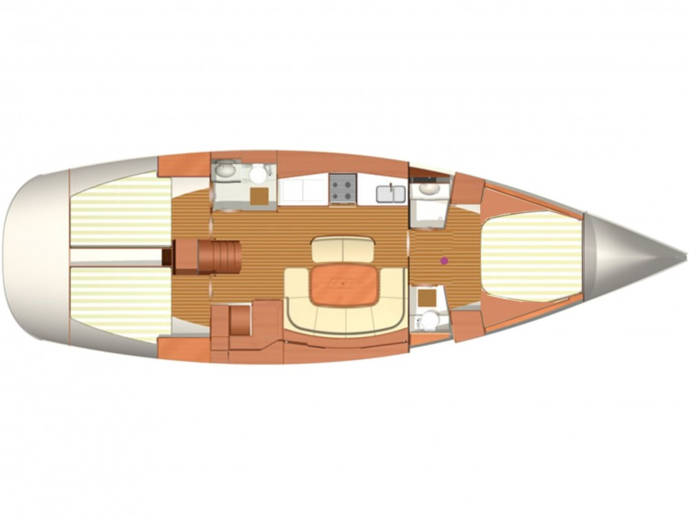 Rental Sailboat in Pula - Dufour Dufour 455/3cab./RM