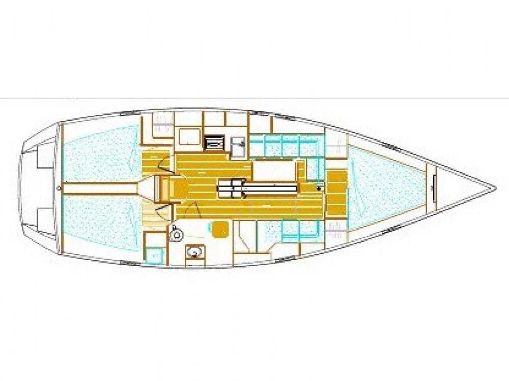 Rental Sailboat in Pula - Alubat Ovni 395
