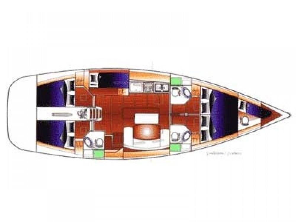 Rental Sailboat in Marina Gouvia - Bénéteau Cyclades 50.5