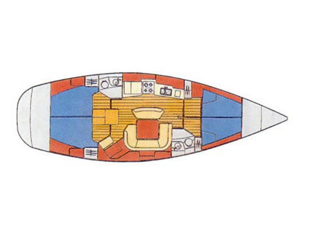Rent a Jeanneau Sun Odyssey 45.2 Marina Gouvia