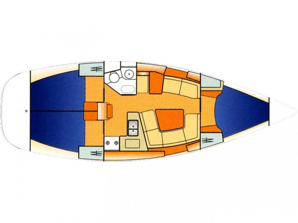 Boat rental Marina Gouvia cheap Sun Odyssey 37