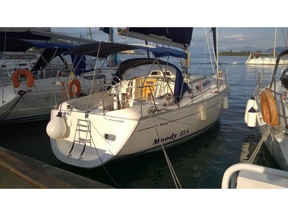 Sailboat for rent Kontokali at the best price