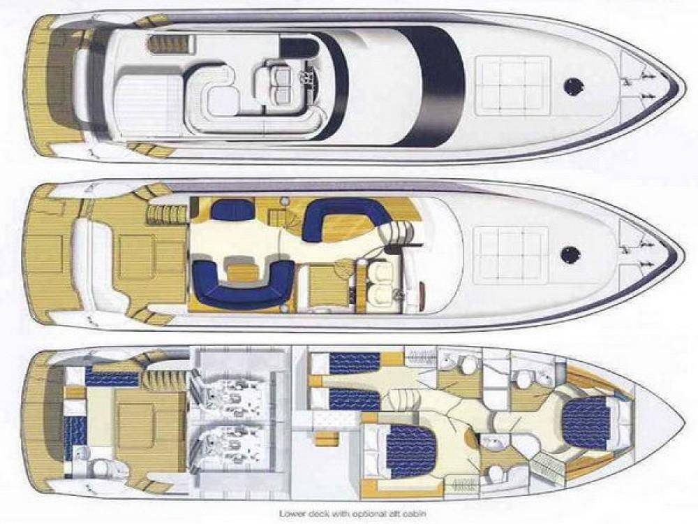 Rental Yacht in Marina Gouvia - Princess Princess 61
