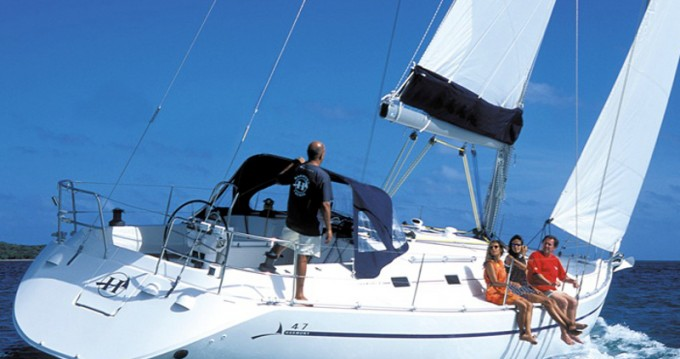Hire Sailboat with or without skipper Poncin Karaca